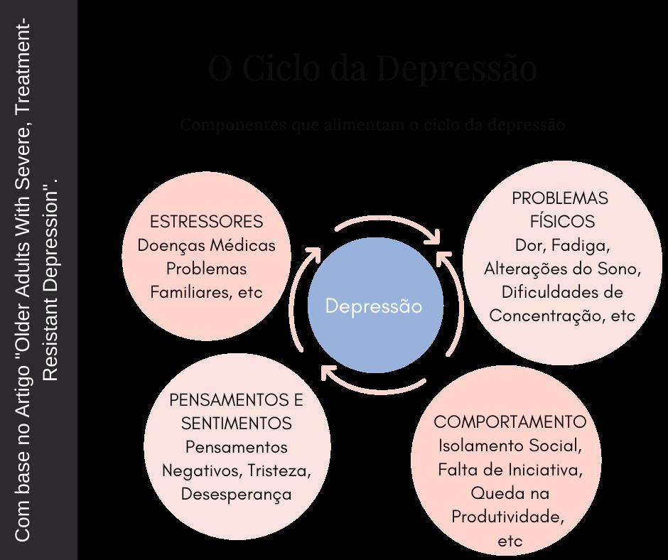 Imagem Ciclo da  Depressão